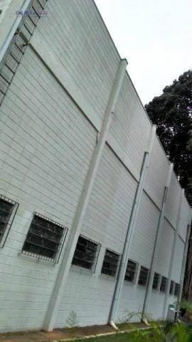Galpão para alugar, 437 m² por r$ 9.400,00/mês - jardim pinheirinho - embu das artes/sp - Foto 2