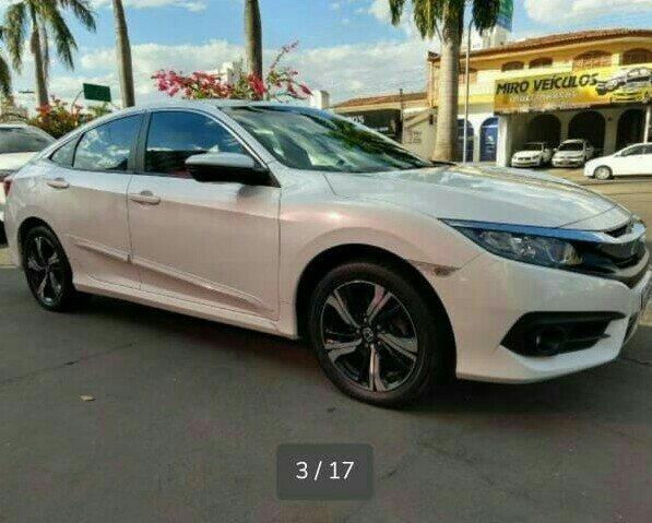 Honda Civic 2.0 EXL CVT Automático 17/17 - Foto 3
