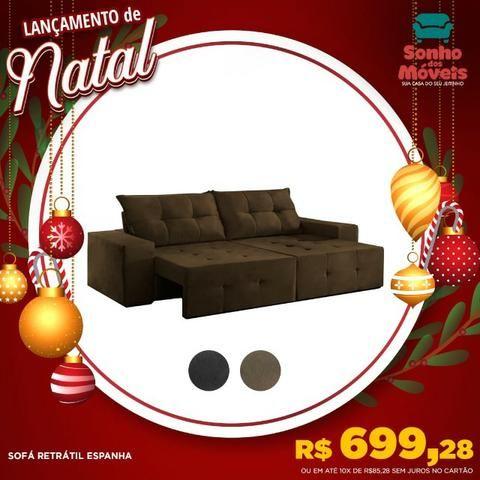 Apenas 699r$ sofá retrátil espanha aproveite no natal dos sonhos
