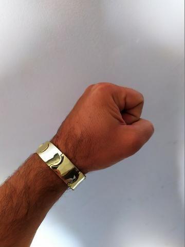 Nossa promoção!! continua!! bracelete de moeda antiga!! - Foto 6
