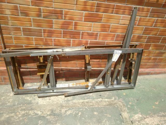 Estrutura/gaiola para transporte de moto - Foto 2