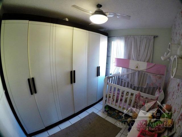 Apartamento 2 Quartos, reformado, com armários, sol da manhã, Resid. Jardim Tropical - Foto 9