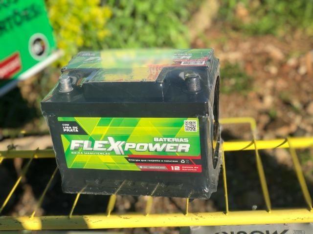 Bateria Flex Power com 1 ano de garantia