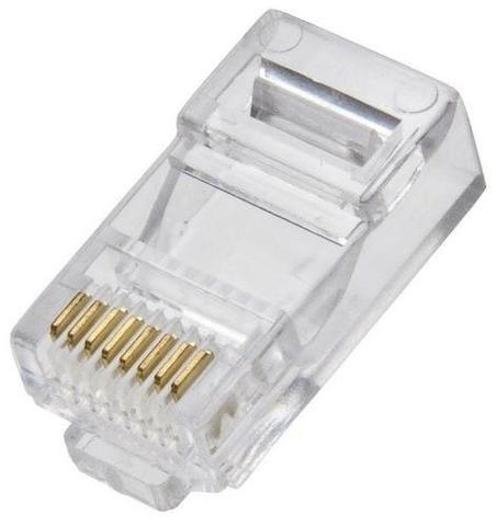 Conector Rj45 Cabo Rede Lan Plug 10 unidades Ydtech - SKU: 81397