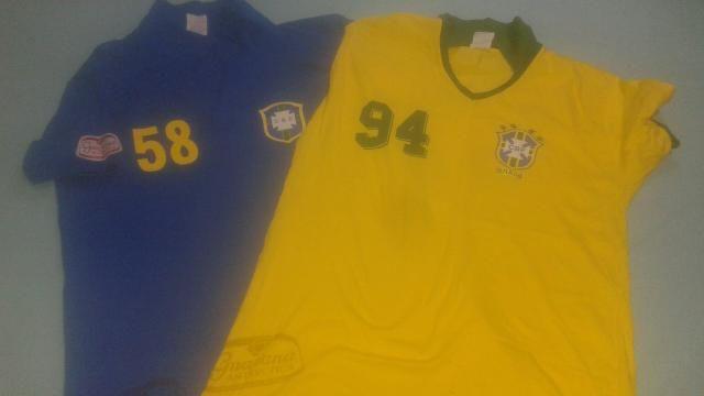 Camisa comemorativa da Seleção