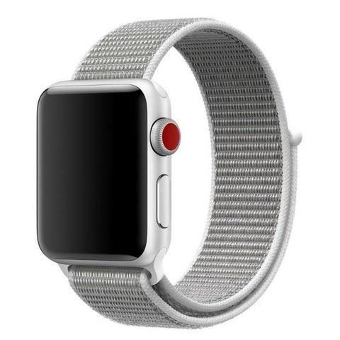 Pulseira Esporte Nylon Apple Watch 38/42mm + Pelicula 5d - Foto 5