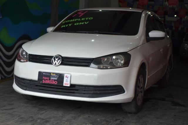Volkswagen Voyage City 1.6 Flex com GNV, Completo. Aprovamos seu crédito mesmo sem renda - Foto 3