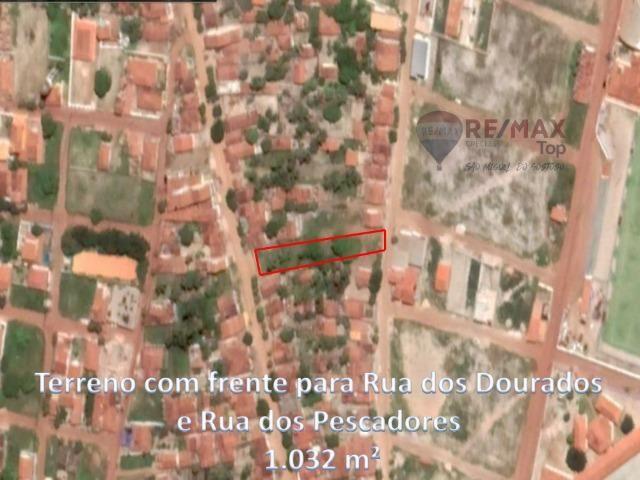 Excelente terreno com escritura pública - 1032 m²
