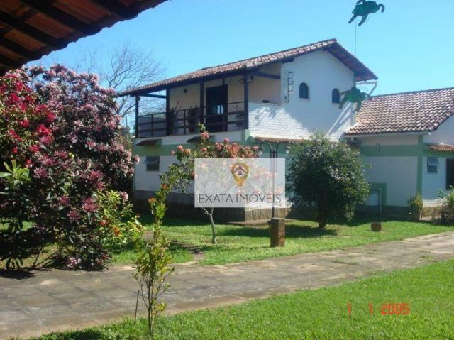 Casa terreno inteiro, linear 3 quartos, Extensão do Bosque/ Rio das Ostras! - Foto 3