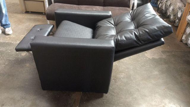 Poltrona recepção e poltrona papai reclinável !!! Fábricamos móveis salão !! - Foto 6