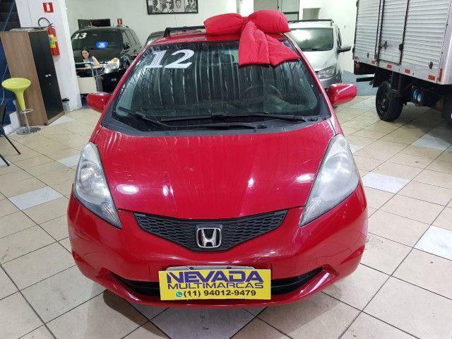 Honda Fit 2012 1.4 Flex LX Vermelho Estudo Troca e Financio - Foto 2