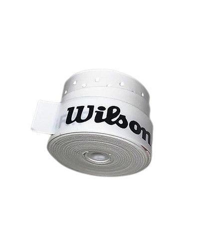 Grip p/ Raquete de Tênis - Wilson Profile - Branco e Preto - 5 Un - Foto 4