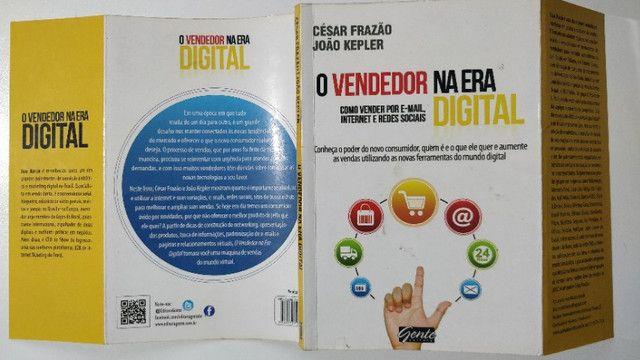 Livro O Vendedor Na Era Digital Cesar Frazão João Kleper - Foto 3