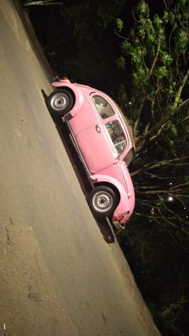 Vendo Fusca rosa  - Foto 3
