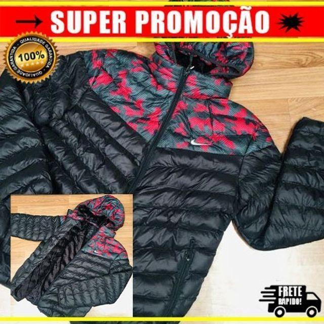 Jaqueta Bomber Gominho - Nike Red Blood