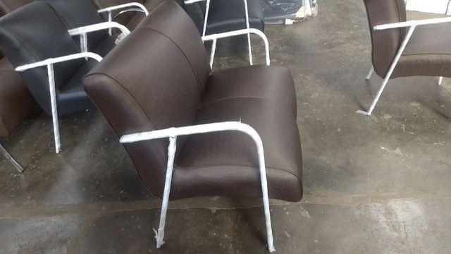 Poltrona recepção !!! Fábrica de móveis pra salão de beleza !!!! - Foto 2
