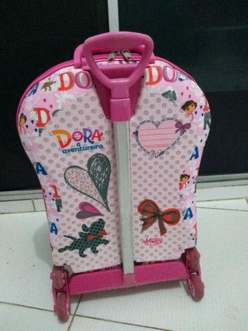 Mochila 3D Maxtoy, Dora Aventureira - Foto 3