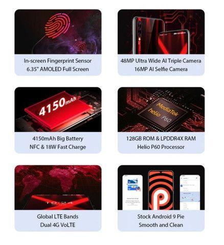 Smartphone Umidigi X Dual Sim 128 Gb Flame Black 4 Gb Ram - Foto 5