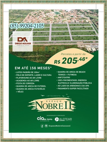 Loteamento Espaço Nobre II $%¨&*( - Foto 15