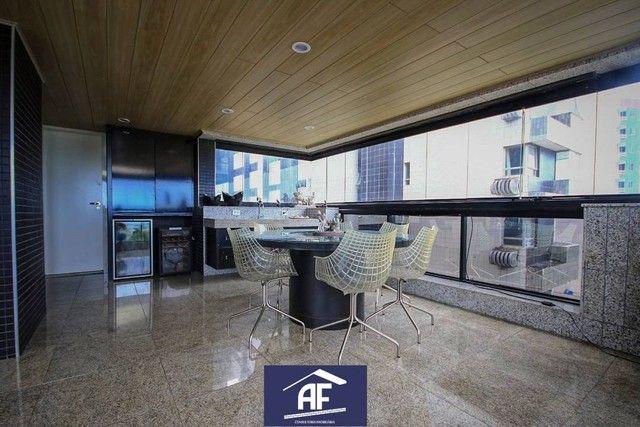 Apartamento de alto padrão com vista permanente para o mar, 4 suítes - Maceió/AL - Foto 8