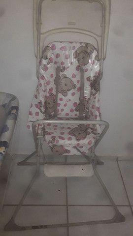 Cadeirinha de come e sercadinho de bebe - Foto 2