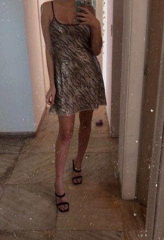 Vestido paetê - Lei Básica - Foto 5