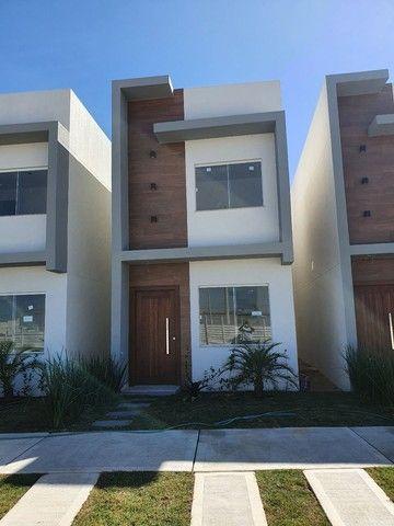 Casas com 3 qts sendo um suíte em condomínio fechado!!! - Foto 4