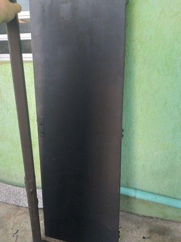 Porta corta fogo usada 2 portas  - Foto 2