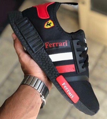 Vendo tênis Adidas nmd e nmd Ferrari ( 120 com entrega )