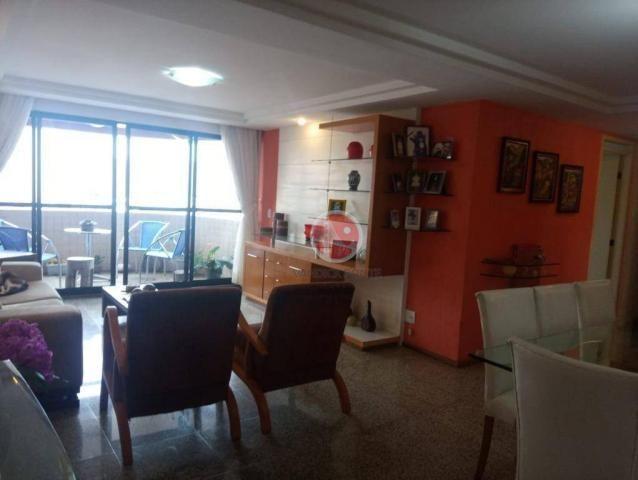 Apartamento com 3 dormitórios à venda, 150 m² por R$ 750.000,00 - Guararapes - Fortaleza/C - Foto 5
