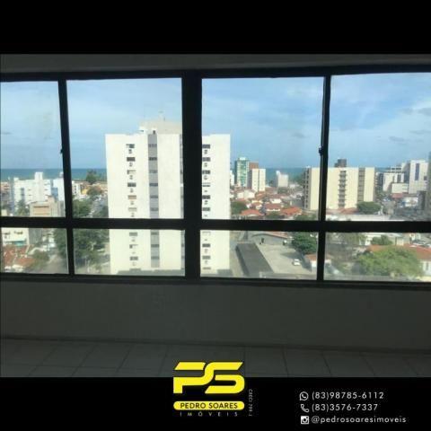 Apartamento com 2 dormitórios para alugar, 56 m² por R$ 1.700/mês - Tambaú - João Pessoa/P - Foto 2