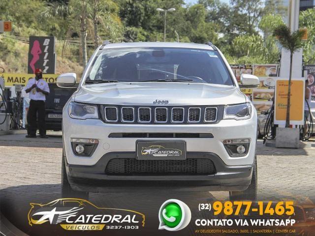 Jeep Compass longitude 2.0 4x2 Flex 16V Aut. 2018 *Novíssimo* Carro Impecável - Foto 2