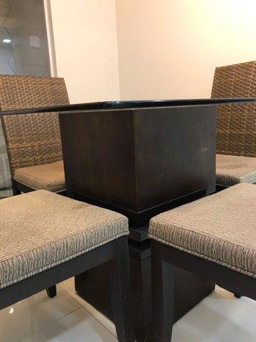 Conjunto de mesa e cadeiras  - Foto 5