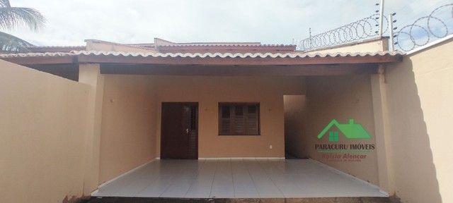 Ampla casa nova com dois quartos pertinho da rádio mar azul em Paracuru - Foto 3