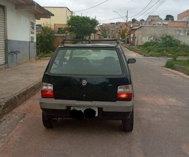 Fiat uno Mille economy 1.0/ 2009 Flex - Foto 2