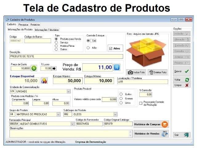 Sistema de Caixa para Lojas em Geral. Vendas, Estoque, Financeiro, Caixa, Relatórios. - Foto 2