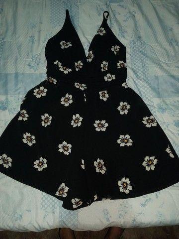 Macaquinho e vestido