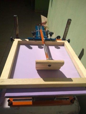 Maquina de Silk Screen Jeferson Machines Sem uso...