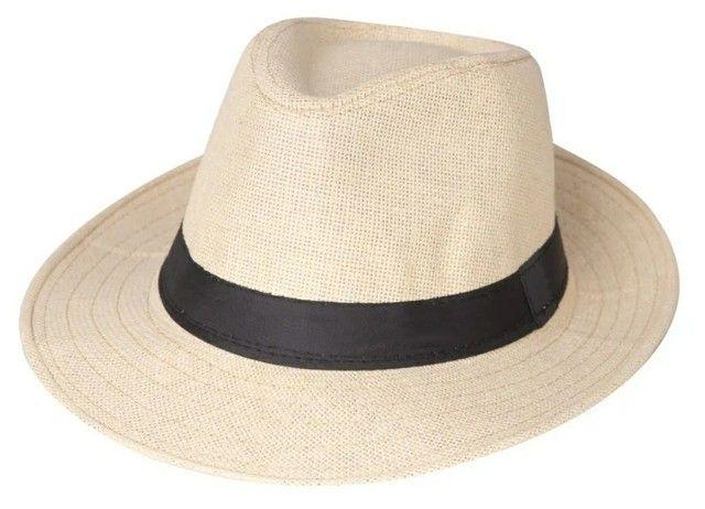 Chapéu Panamá Clássico Creme