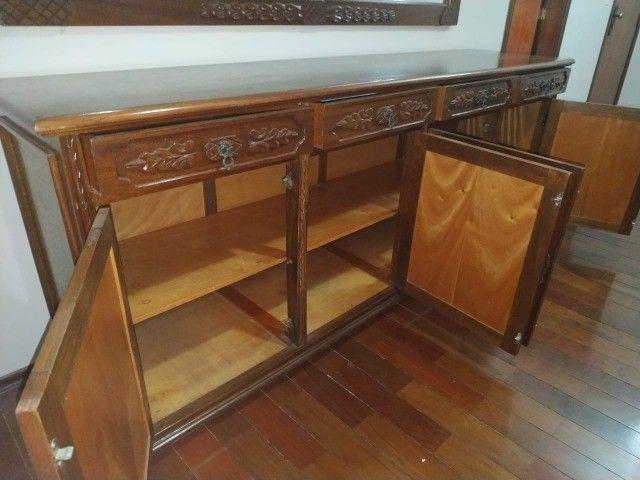 Buffet aparador em Madeira Entalhada (Estilo Colonial)-Piracicaba, SP - Foto 4