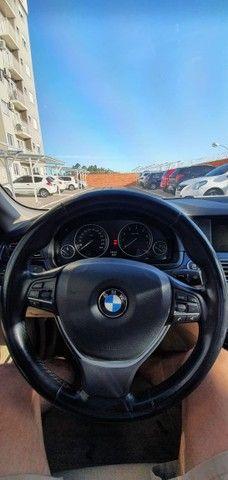 Torro! Ipva Pago!!! BMW 528I 2.0 Turbo - Top de Linha, 2013, interior Caramelo, 245 Cv - Foto 11