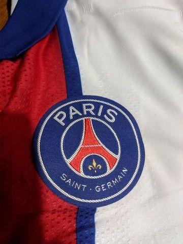 Camisa PSG versão jogador - Foto 4