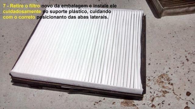 Filtro Cabine Ar-Condicionado Mahindra 2.2 e 2.6 Suv, Mov, Scorpio, PikUp, Cd, Simples - Foto 6