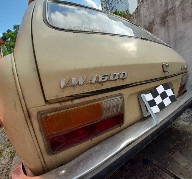 VW Variant 1600 ano 1974 conservada, carro antigo de coleção - Foto 8