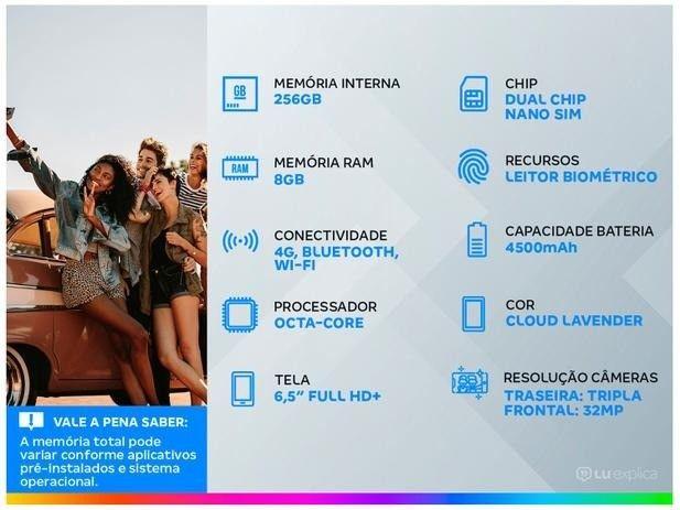 Smartphone Samsung Galaxy S20 Fe Tela 6.5 256gb 8gb Ram6,5? Câm. Tripla + Selfie 32MP - Foto 6