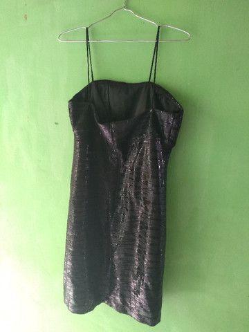 Vestido paetê preto - Foto 2