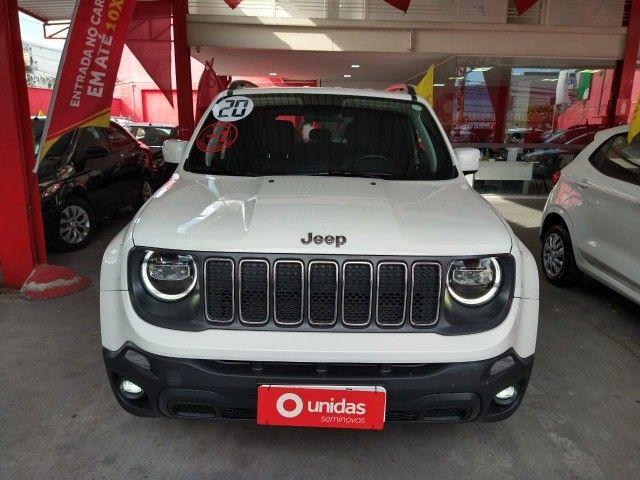 Jeep Renegade 2020 Longitude 1.8 flex 4X2 - 47mil km, tá muito novo!!!