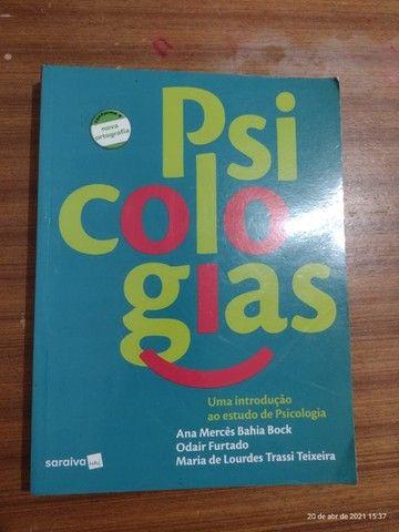 Livros de Psicologia - Livro Psicologias Ana M. Bahia Bock