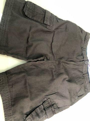 Bermuda infantil Nova. Roupa short menino masculino. - Foto 4