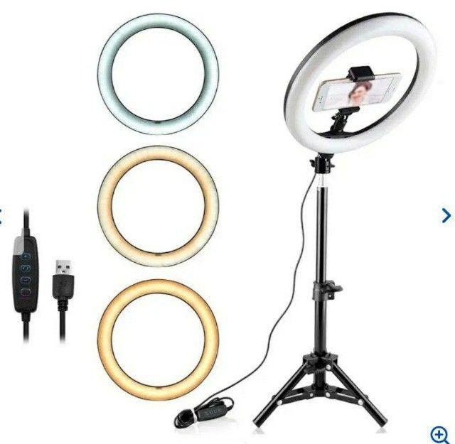 Ring Light Iluminador - Foto 3